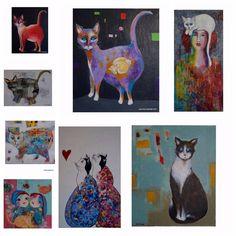 """1 likerklikk, 1 kommentarer – Jane Monica Tvedt (@empireofheart) på Instagram: """"CATS - Det er bare 5 dager til julemarkedet på Gausel bydelshus. #dyrebeskyttelsennorgenordjæren…"""""""