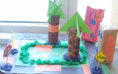 Shape Neighborhood Math Project for K-2