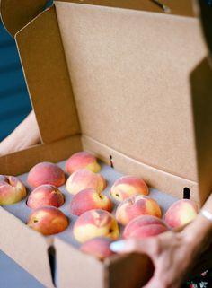 The Peach Truck Gift Box - 13 Fresh Georgia Peaches