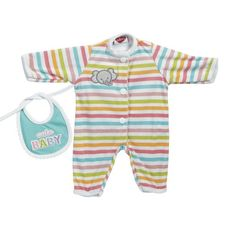 Adora Giggle Time Baby Doll Stripe Elephant Outfit >>> You can find out more details at the link of the image.