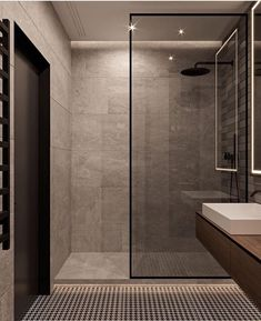 Bathroom Ideas Apartment Design is agreed important for your home. Whether you pick the Interior Design Ideas Bathroom or Luxury Bathroom Master Baths Walk In Shower, you will create the best Luxury Master Bathroom Ideas Decor for your own life. Bad Inspiration, Bathroom Inspiration, Bathroom Inspo, Spa Inspired Bathroom, Bathroom Updates, Bathroom Colors, Modern Bathroom Design, Bathroom Interior Design, Washroom Design