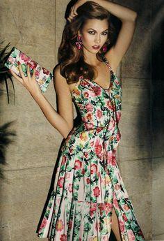#KarlieKloss #Model #Supermodel #Vogue #VSAngel
