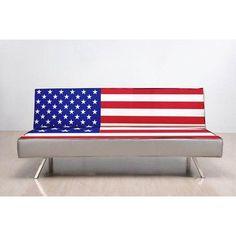 Amazon.com - American Flag Sleeper Sofa
