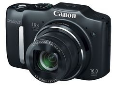 Canon PowerShot SX500 IS and SX160