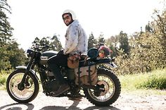 Two-wheeled bug-out option. 'Like' if you have a similar plan.
