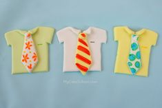 Father's Day Cupcakes~Ties & Tees–Blog