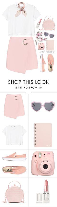 """Head to toe pink 6-5-2017"" by anamarija00 ❤ liked on Polyvore featuring Vans, Monki, Fujifilm, Nancy Gonzalez, Rodin, Manipuri, monochrome, Pink and monochromepink"