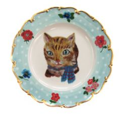 Plate (illustrated by Nathalie Lété)