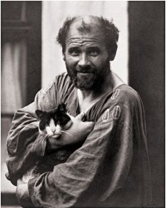 101 years ago on this day, artist Gustav Klimt died of pneumonia in Vienna, Austria. Klimt was an Austrian symbolist painter and the leader of the Vienna Secession movement. He is known for his. Gustav Klimt, Art Klimt, Famous Artists, Great Artists, Vienna Secession, Cat People, Pablo Picasso, Vincent Van Gogh, Oeuvre D'art