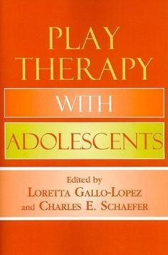 Play Therapy with Adolescents. Offers a complete variety of play therapy approaches specifically geared toward adolescents. - Re-pinned by @PediaStaff – Please Visit http://ht.ly/63sNt for all our pediatric therapy pins