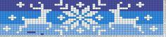 Tricksy Knitter Charts: reindeer snowflake by SBanta