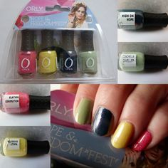 Orly Hope and Freedom Fest Mini-Nagellack-Set und erste schnelle Swatches   http://infarbe.blogspot.de/2013/04/orly-hope-and-freedom-fest-mini.html