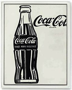 """Pop Art Is Poster (unframe) (Andy Warhol Coca-Cola, Produced in in conjunction with """"Pop Art Is"""" at Gagosian Gallery, Britannia Street 27 x 39 inches x 100 cm) Andy Warhol Pop Art, Andy Warhol Marilyn, Pop Art Poster, Kunst Poster, Poster S, Jean Michel Basquiat, Arte Pop, Cultura Pop, Vaporwave"""
