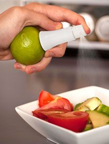 its a spritzer that screws into your lemons or limes... would make a great stocking stuffer! This is amazing!