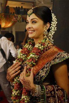 Bridal Saree - more inspiration at http://www.ModernRani.com