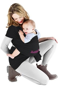 Baby Wrap, Baby Carrier By Bodybudd™ Cuddle Your Baby Classic Black, Guide and Pouch Included HugyHugg http://www.amazon.com/dp/B00RV02J1K/ref=cm_sw_r_pi_dp_0YIuvb1WKSQ4E
