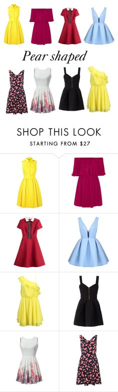 """Untitled #27"" by alexandra-barbu-1 ❤ liked on Polyvore featuring Karen Millen, Alice + Olivia, Valentino, Bik Bok, FAUSTO PUGLISI and Dorothy Perkins"