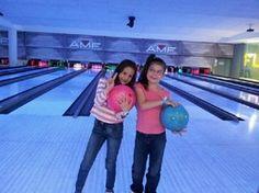 AMF School Holiday bowling.