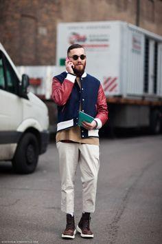 A man with good fashion taste.  #style #like