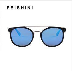 9dd74fcdd55 FEISHINI Classic BRAND DESIGN Classic Mirror Polarized Sunglasses Men 2019