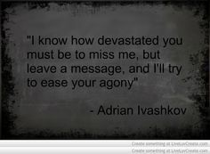 funniest adrian ivashkov quotes - Google Search