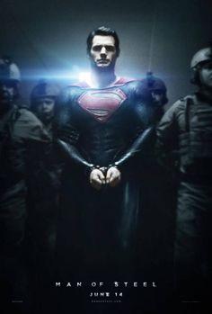 Sylvan Gu: *NEW* Man of Steel Poster #Lockerz