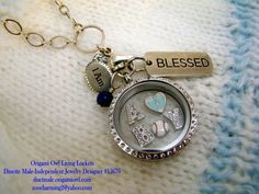 Origami Owl baby boy locket