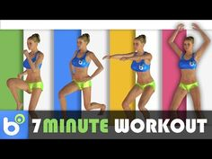7 Minute Workout - 7 minuti di esercizi ad alta intensità per dimagrire