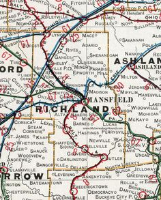 88 Best Historic Ohio County Maps images   County map, Ohio map ...