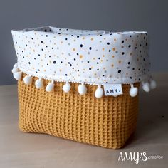 Sewing Tutorials, Sewing Projects, Sewing Class, Baby Bedroom, Baby Sewing, Boy Room, Fabric Patterns, Handicraft, Basket