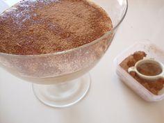 """As Minhas Receitas: """"Trifle"""" de Café e Chocolate"""