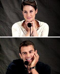 Shailene Woodley & Theo James ~Divergent~ ~Insurgent~ ~Allegiant~