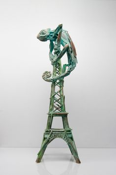 Unique Bronze, 55cm tall.  Overcoming the industrial reliance of carbon-based fuels is the next step to address the climate emergency. As we sleep walk in to the future of a 1.5% global temperature average increase, the consequences and costs will be catastrophic. The Paris Agreement set the target but the Green New Deal will make the changes visible in a fair and just way. Bannister, Thing 1, The Next Step, Bronze Sculpture, This Is Us, Sculptures, Target, Industrial, Sleep