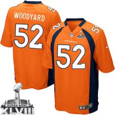 ... Nike Denver Broncos 58 Von Miller Blue Elite 2014 Super Bowl XLVIII NFL  Jerseys New Style Falcons Devonta Freeman 24 ... ae53d3bee