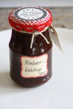Himbeer-Tomaten-Ketchup