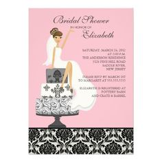 See MorePink Damask Brunette Bride Bridal Shower Custom InviteWe have the best promotion for you and if you are interested in the related item or need more information reviews from the x customer who are own of them before please follow the link to see fully reviews
