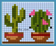 theme fleur - Page 2 Cactus Cross Stitch, Mini Cross Stitch, Cross Stitch Cards, Cross Stitch Samplers, Cross Stitch Flowers, Modern Cross Stitch, Cross Stitch Designs, Cross Stitching, Cross Stitch Embroidery