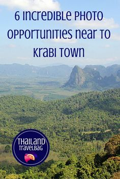 6 incredible photo opportunities near to Krabi Town