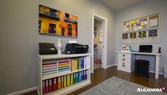 Home Office Organization Ideas from #AlejandraTV