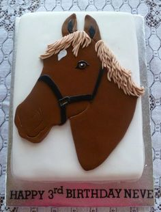 horse birthday cake - Google Search
