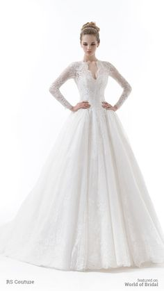 RS Couture 2015 Wedding Dress