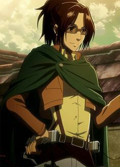 Image discovered by Yunikoun. Find images and videos about anime, attack on titan and shingeki no kyojin on We Heart It - the app to get lost in what you love. Mikasa, Armin, Hanji Attack On Titan, Hanji And Levi, Levihan, Ereri, Vocaloid, Snk Cosplay, L Death