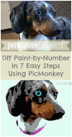 DIY Paint by Number Tutorial |