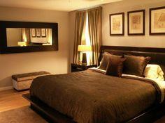 Bedroom ideas brown headboard comforter 55 Ideas for 2019 Bedroom Styles, Bedroom Colors, Home Decor Bedroom, Bedroom Wall, Bedroom Furniture, Mirror Bedroom, Wall Mirror, Dream Bedroom, Girls Bedroom