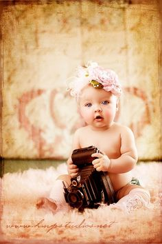 Baby and old camera...favorite pin I've EVER seen!!!!