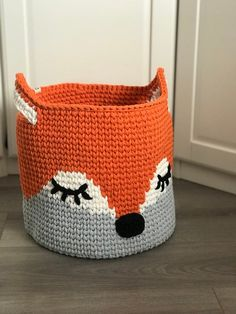 Crochet basket Rope basket Bathroom storage Baby shower Etsy crochet ideas for baby shower favors OLLIhomedecor shared a new photo on Etsy Crochet Basket Pattern, Diy Crochet Rope Basket, Crochet Ideas, Fox Nursery, Nursery Decor, Bedroom Decor, Toy Basket, Basket Gift