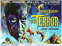 The Terror - 1963 - Movie Poster