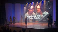 III Prêmio Rio Sem Preconceito, Ceds-Rio. Setembro 2015. Homenagem Nathália Timberg e Fernanda Montenegro. Cenografia Paula Santa Rosa e Mauro Mendes