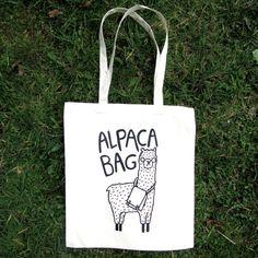 Alpaca Bag by KatieAbeyDesign on Etsy