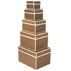 Set of 5 boxes rectangular brown +++ STORAGE BOXES +++ Quality made by Semikolon Semikolon http://www.amazon.co.uk/dp/B0082WZ63O/ref=cm_sw_r_pi_dp_wj8jvb01JDEAA £42.88